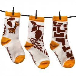 Chaussettes bébé girafon