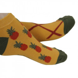 Socquettes enfant ananas