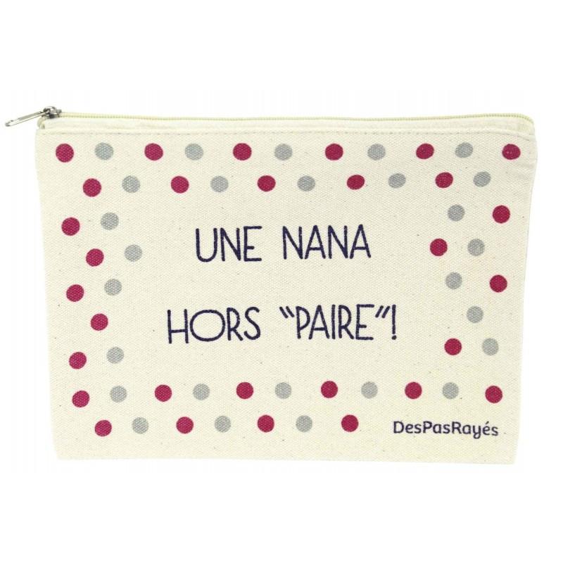 """Pochette """"Une nana hors paire"""""""