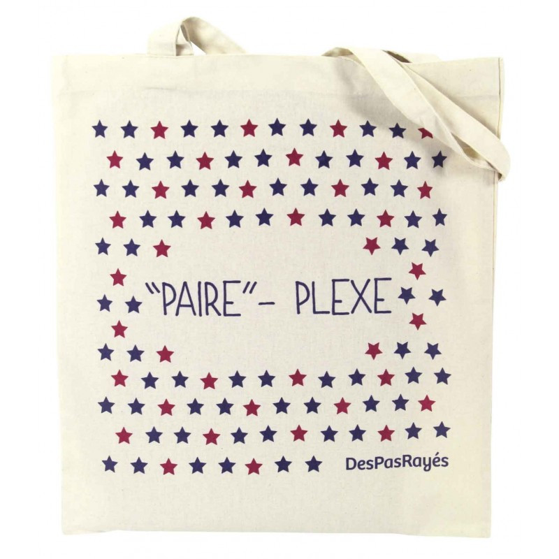 """Tote-bag """"Paire""""-plexe"""