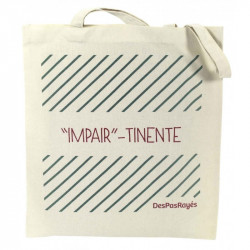 "Tote-bag ""Impair""- tinente"