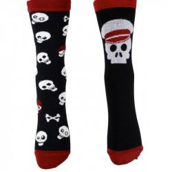Chaussettes tête de mort