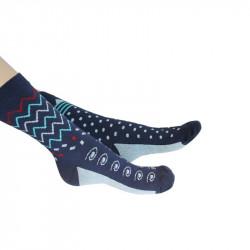 chaussettes dépareillées à motifs pour homme, femme et enfant