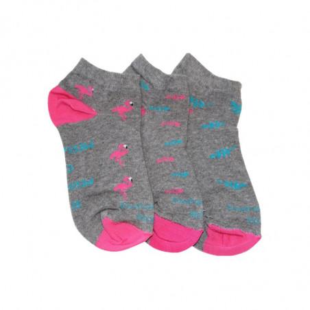 Socquettes Flamant