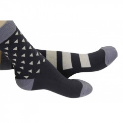 Chaussettes triangles noirs